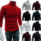 New Mens Autum Winter Stretch Turtle Polo Neck Turtleneck Jumper Sweater Stylish