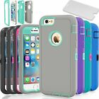 "Protective Hybrid Shockproof Hard Case Cover For Apple iPhone 6 6S 4.7/5.5"" Plus"