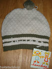 LOURDES girl winter hat cotton BNWT designer size M ( approx. 3-4-5-6 y)