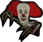 IT Embroidered Patch Horror Movie Pennywise the Dancing Clown Stephen King