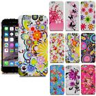 For Various Apple iPhone Printed Flower Butterfly Silicone Gel Skin Case Cover