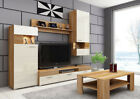 Living Room Furniture Set Tv Unit Sideboard Wall Display Stand Coffee Table