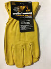 1x Wells Lamont Premium Cowhide Leather Gloves Superior Fit & Mobility  M, L, XL