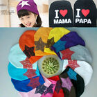 Lovely Children Infant Toddler Beanie Hat Warm Winter Boys Girls Cap 15 Colors