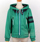 Tokyo Ghoul Kaneki Ken Green Hoodie Top Jacket Outfit Cosplay Costumes Any Size