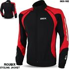 Cycling Jacket Roubix Material Winter Thermal Long Sleeve Jersey Black/Red NEW