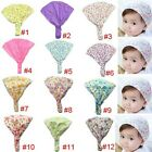 Flowers Floral Headband Bandanas Headscarf Band Scarves Wraps For Baby Kid Girl