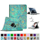 360 Degree Rotating Case w/Smart Cover for Apple iPad Air 2 6th Auto Sleep/Awake