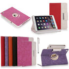 360 Rotating Magnetic PU Leather Case Smart Cover Stand For iPad MINI 2 3 4 Air