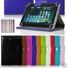 Premium Leather Case Cover+Pen For 10.1 DigiLand DL1010Q Android Tablet WN8