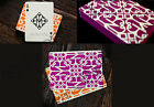 MADISON HUSTLER PLAYING CARDS ORANGE PURPLE DANIEL LOGO RARE COLLECTABLE LTD ED