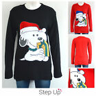 NEW Womens, Mens, Unisex Retro Snoopy Character Pattern Christmas Jumper