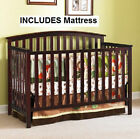 GRACO Convertible Crib 4-in-1 & BONUS Mattress Nursery Set ASSORTED Colors NEW