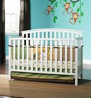 GRACO Convertible Crib 4-in-1 & BONUS Mattress Nursery Crib ASSORTED Colors NEW