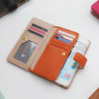 Apple iPhone 6 Plus Genuine Leather Flip Cases Covers Wallet Mobile Phone Casing