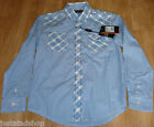 Ben Sherman boy shirt top 7-8 y, 10-11 y BNWT 2 designs cotton smart designer
