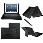 US Stock Bluetooth Keyboard Stand PU Leather Case Cover For 7 8 8.4 Tablet PC