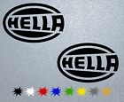 CAR STICKER PEGATINA DECAL VINYL  Hella
