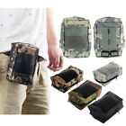 Waterproof Military Camo Bag For Cellphone Belt Loop Cover Case Pouch Holster