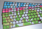 "Colorful Keyboard Cover Skin Protector For Mac Book 13"" 15"" 17"" Laptop"
