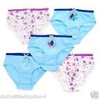 New Disney Store Frozen Anna Elsa 5 pack of briefs knickers underwear