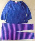 Juicy Couture baby girl velour top tunic & leggings 18-24 m NEW outfit designer
