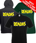 Demons Classic Dario Argento 80's Horror Movie T Shirt