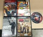 5 Playstation 2 Games with PS2 Controller SEE DESCRIPTION
