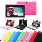 7 A33 8GB Google Android 4.4 Quad Core Camera Tablet PC WIFI Bundle Keyboard