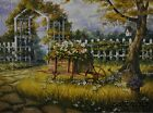 "MH156 Sun Drenched Daises Michael Humphries 12""x16"" framed or unframed art"