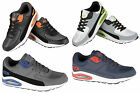 Air Tech Mens Casual Trainers Running Lace Up Gym Walking Boys Sports Shoes Size