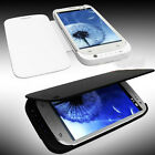 3200mAh Power Bank Backup Battery Charger Case Cover For Samsung Galaxy S3 i9300