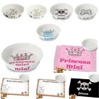 PERSONALISED CATS DOGS KITTENS PUPPY Christmas Pet Gift Feeding Mats Bowl Dish
