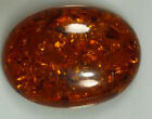 Genuine Oval Cabochon Natural Rich Golden Baltic Amber(6x4-20x15mm) Loose Stone