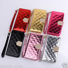 iPhone 6 6s 6 Plus 6s Plus Clutch Case Wallet Cover with Diamond Crystal Clasp