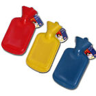 RIBBED 2 LITRE HOT WATER BOTTLE WARM WINTER ADULTS KIDS TRAVEL HOME OFFICE HEAT