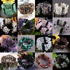 Magnetic Gemstone Tumbled Stones Bracelet Bangle Wristband Chain Choker Necklace