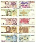 Poland 20 + 50 + 100 + 500 + 1000 Zlotych Set of 5 Banknotes 5 PCS UNC