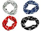 *Handmade* Women Infinity Quatrefoil Chunk Plaid  Circle Wrap Scarf *4 COLORS*