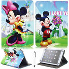 """Universal Cartoon Mickey Minnie PU Leather Case Cover For 7""""~7.9"""" Inch Tablet"""