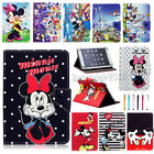 Universal Cartoon Mickey Minnie PU Leather Case Cover For 7~7.9 Inch Tablet