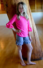 Girl's Spring & Summer Double RUFFLED SHORTS 12+ colors sizes 6T, 7, 8, 9 year