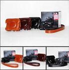 Leather Camera Case Bag Cover Protector For Canon Powershot G15 G16
