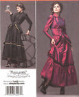 Industrial Age Bustle Dress PATTERN SteamPunk Simplicity 2207 Arkivestry sz 6-20