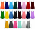 Womens Sleeveless Cami Swing Dress Floaty Flared Strappy Skater Long Top 8-26