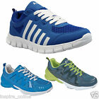 NEW MENS RUNNING TRAINERS LACE UP CASUAL BOYS WALKING JOGGING GYM SPORTS SHOES