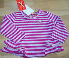 No added sugar baby girl top 3 m, 6 m, BNWT designer party gold pink