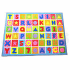 PLAY MAT KIDS CHILDREN BABY NURSERY LATEX BACKING BRIGHTLY COLOURED FLOOR TOY