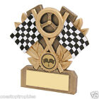 Go Karting Trophy Award in 3 Sizes,Free Engraving up to 30 Letters