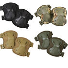 NEW Kombat Elasticated Hard Wearing Spec Ops Knee Pads Paintballing 4 Colours